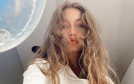 Gigi Hadid Puts Her Baby Bump On Full Display In Two-Piece Bathing Suit