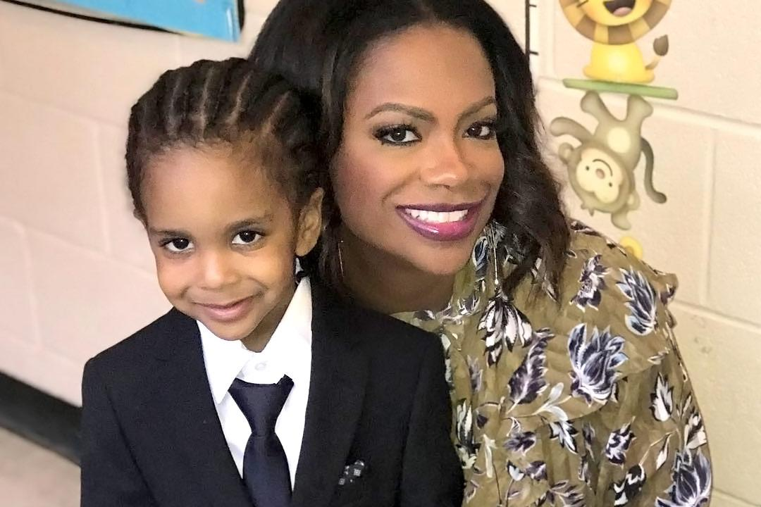 Kandi Burruss Shares A Funny Message About Her Son, Ace Wells Tucker - See His Clip