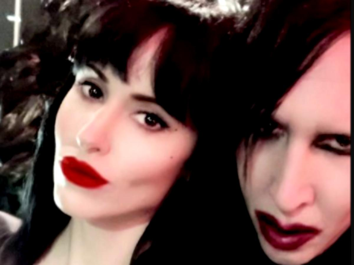 Marilyn Manson's Wife Lindsay Usich Silent On Allegations He Serially Abused Multiple Women For Decades