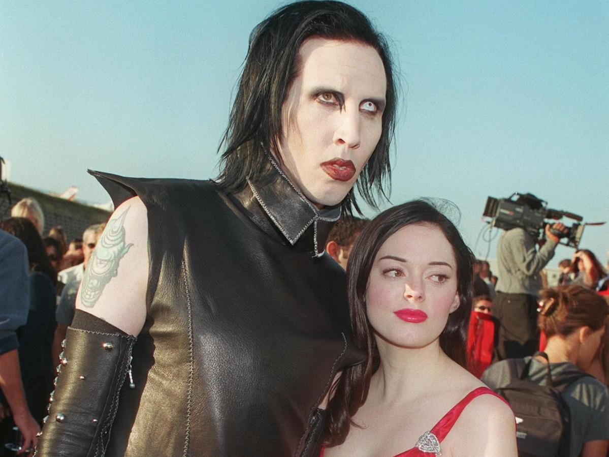 Rose McGowan Speaks Out About Marilyn Manson Abuse Allegations, 'He Wasn't That Way With Me'