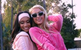 Paris Hilton And Saweetie Paint The Town Pink In Juicy Couture