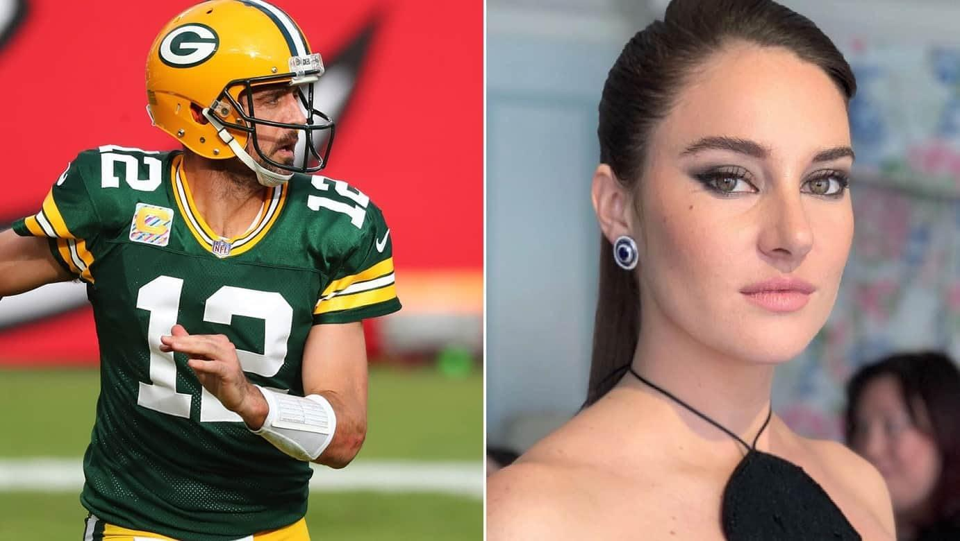 Shailene Woodley Reportedly In A Private Long-Distance Relationship With Aaron Rodgers - Details!