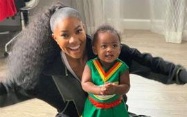 Gabrielle Union Poses With Shady Baby Kaavia James And Fans Are In Awe