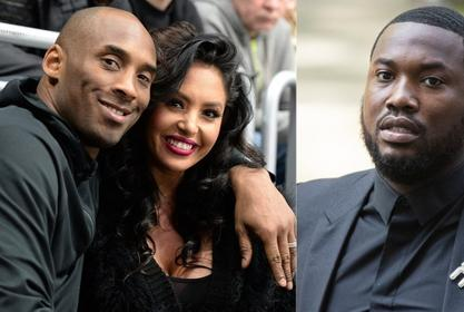 Vanessa Bryant Slams Meek Mill For Rapping About Kobe's Death In Leaked Song!