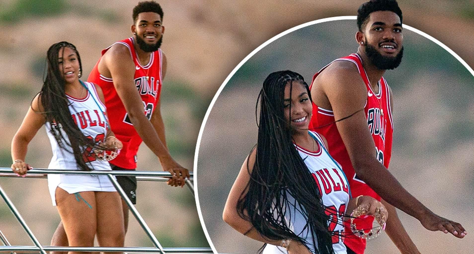 Jordyn Woods Has The Best Time With Her BF, Karl-Anthony Towns - See Their Photos Together