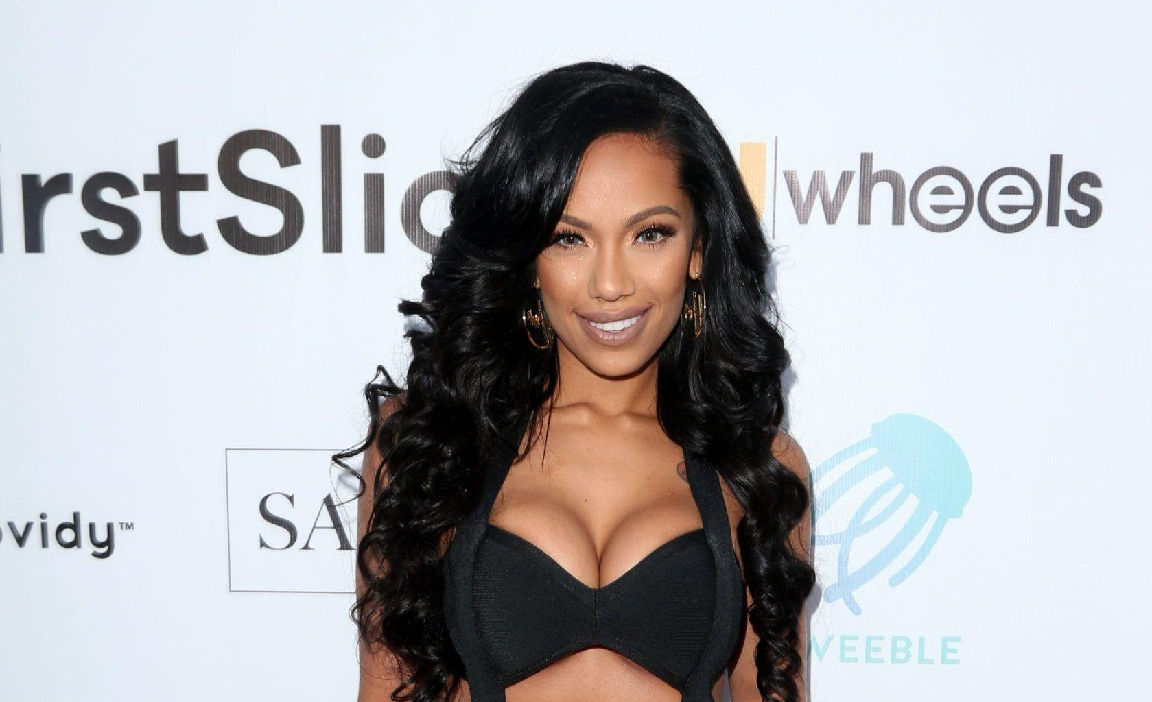 Erica Mena Drops Another Thirst-Trap - See Her Message For Safaree