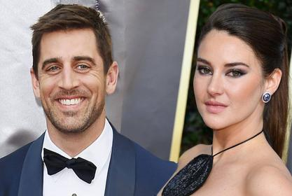Aaron Rodgers Opens Up About His Shailene Woodley Engagement And Reveals He Can't Wait To Have Kids!