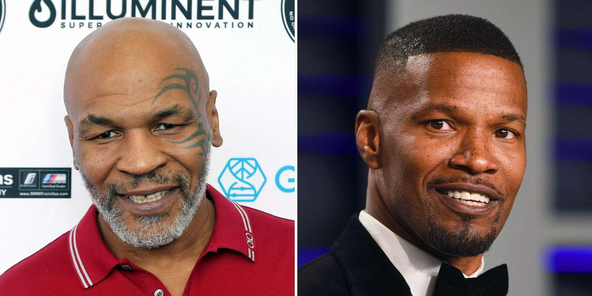 Jamie Foxx Will Play Mike Tyson In New Biopic Series Called 'Tyson'