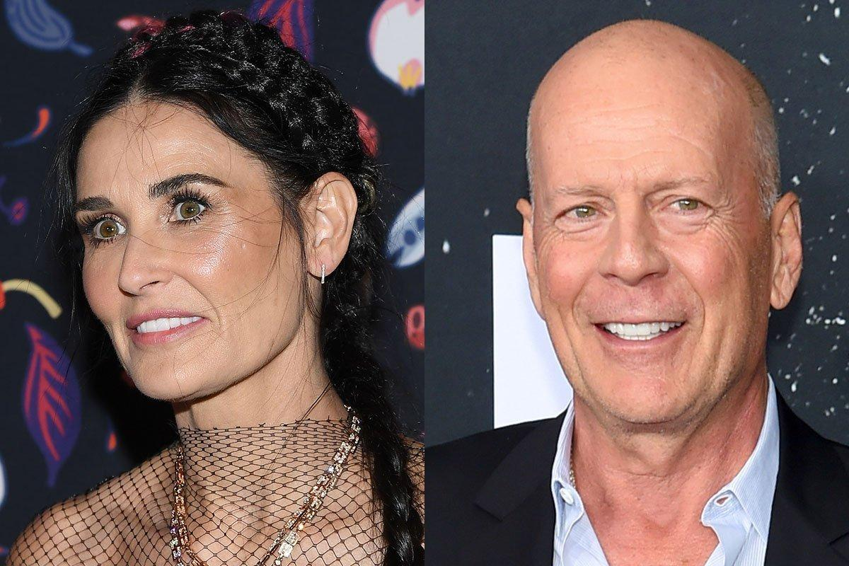 Demi Moore Pays Tribute To Her Former Husband Bruce Willis On His Birthday