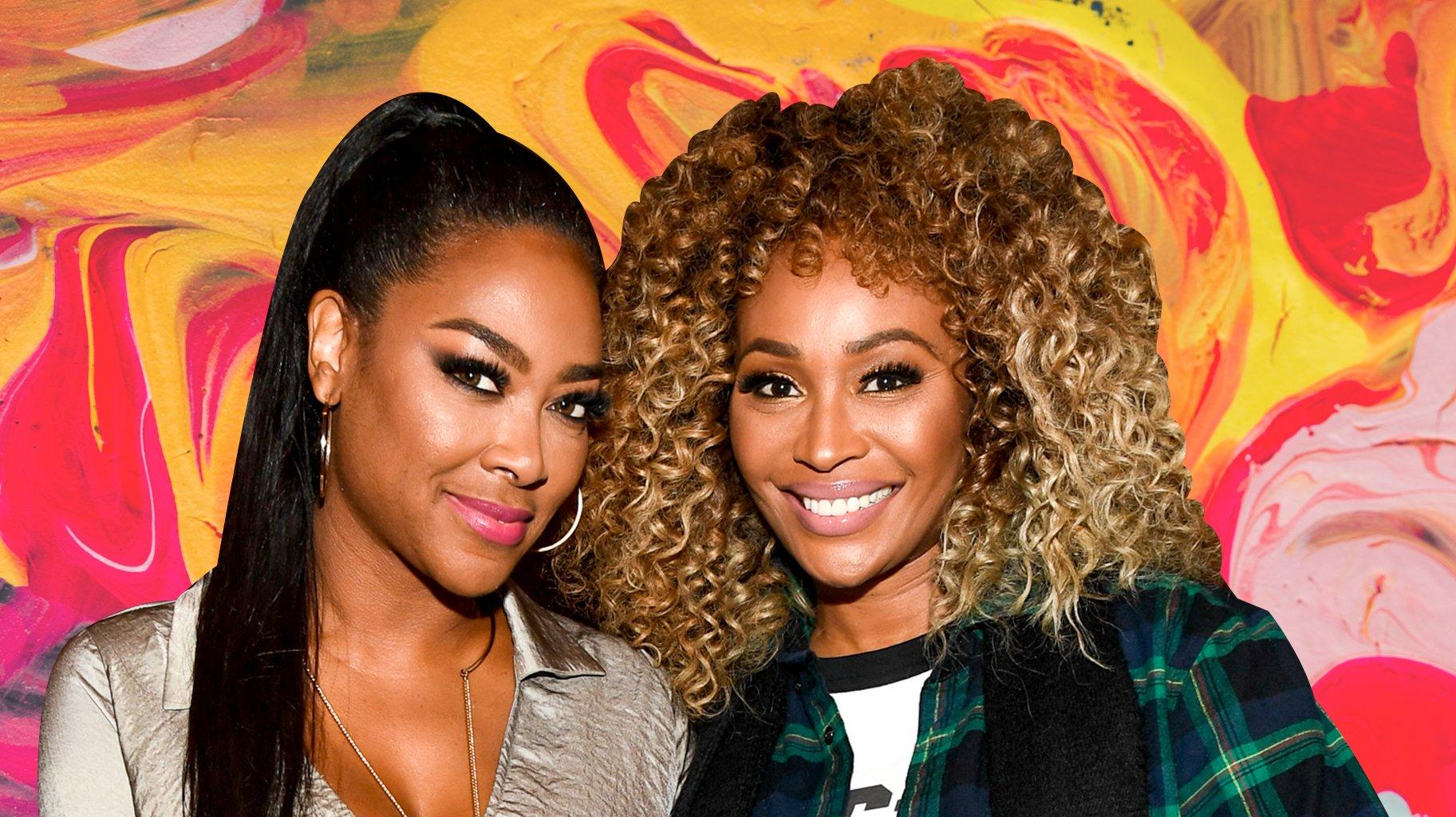 Cynthia Bailey Poses With Kenya Moore's Baby Brooklyn