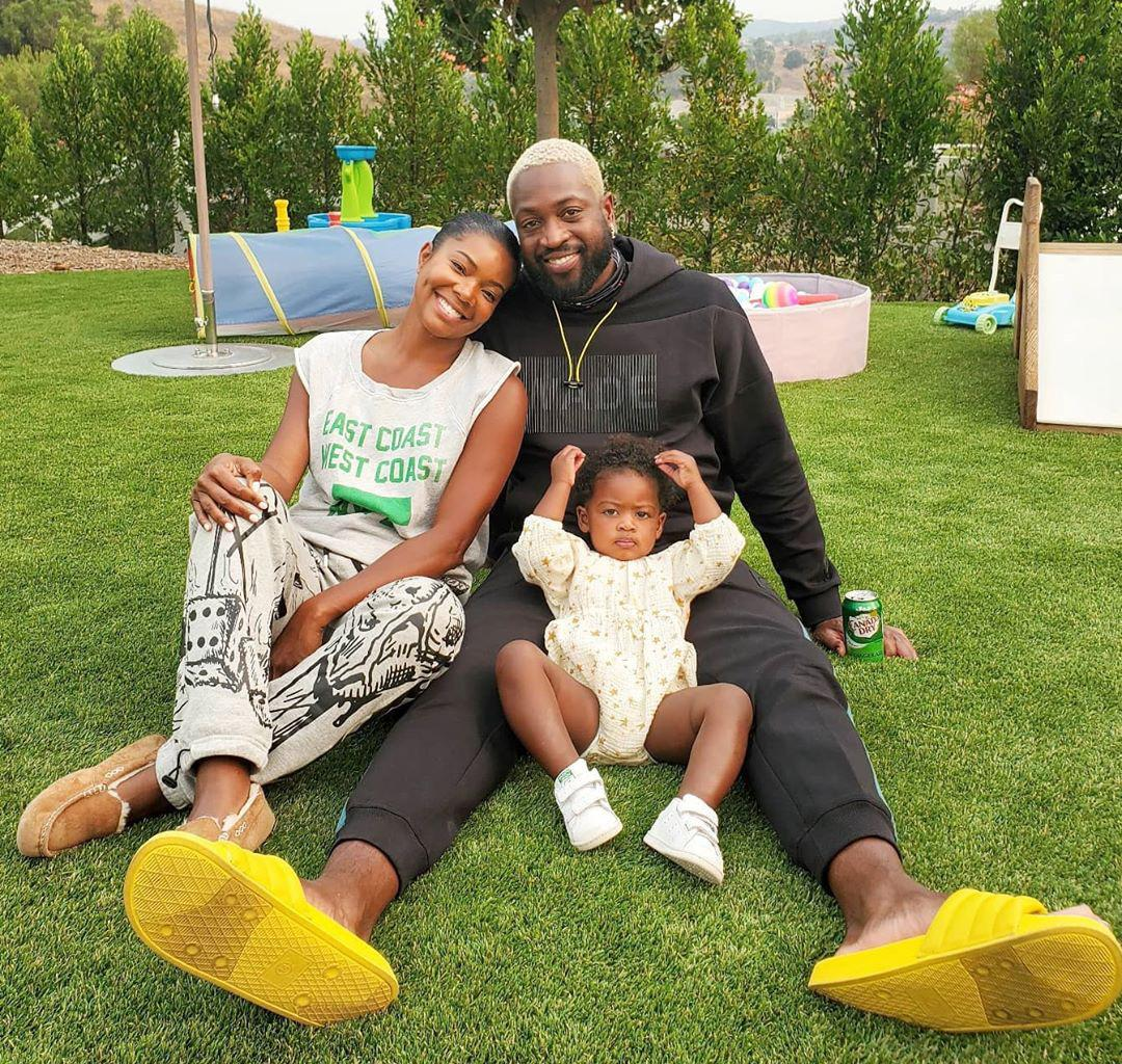 Gabrielle Union's Daughter, Kaavia James Is Completely In Love With Her Dad, Dwyane Wade