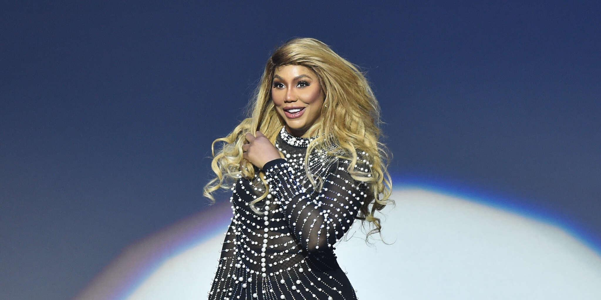 Tamar Braxton Is Finally On Cameo - Check Out The Clip That She Shared