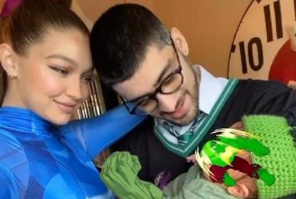 Gigi Hadid Posts New Adorable Pic Of Her And Baby Khai After Accidentally Sharing Pic Of Her Face!