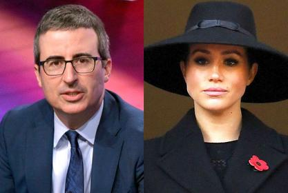 John Oliver Video Of Him Accurately Warning Meghan Markle About Entering The Royal Family 3 Years Ago Goes Viral!
