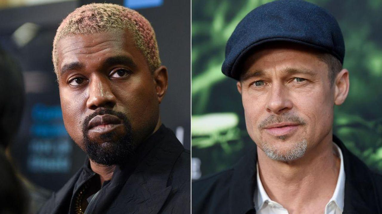 Is Kanye West Turning To Brad Pitt For Support During His Divorce To Kim Kardashian?