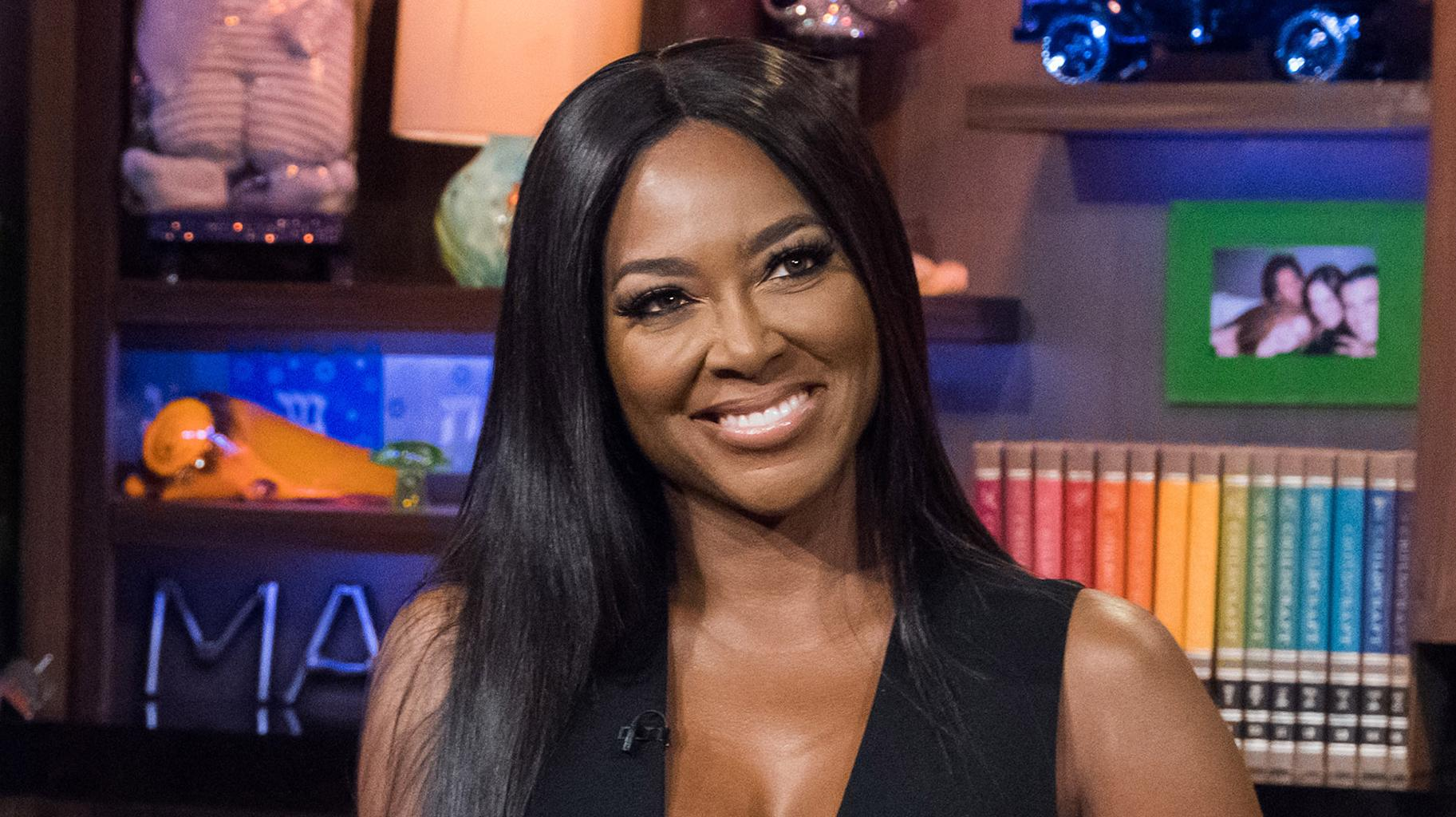 Kenya Moore's Baby Girl Is Slowly But Surely Becoming A Model - Check Out Her Gorgeous Look!