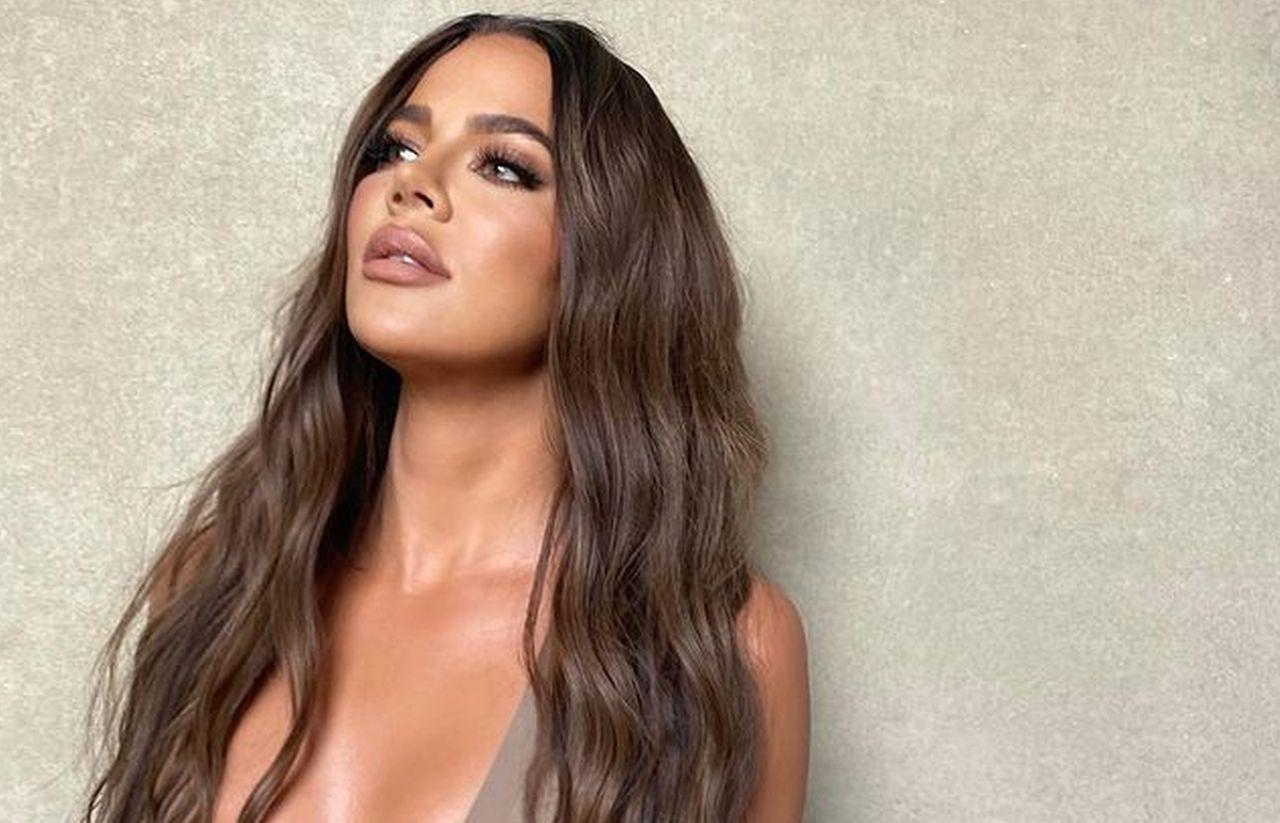 Khloe Kardashian Goes Topless For New Good American Campaign