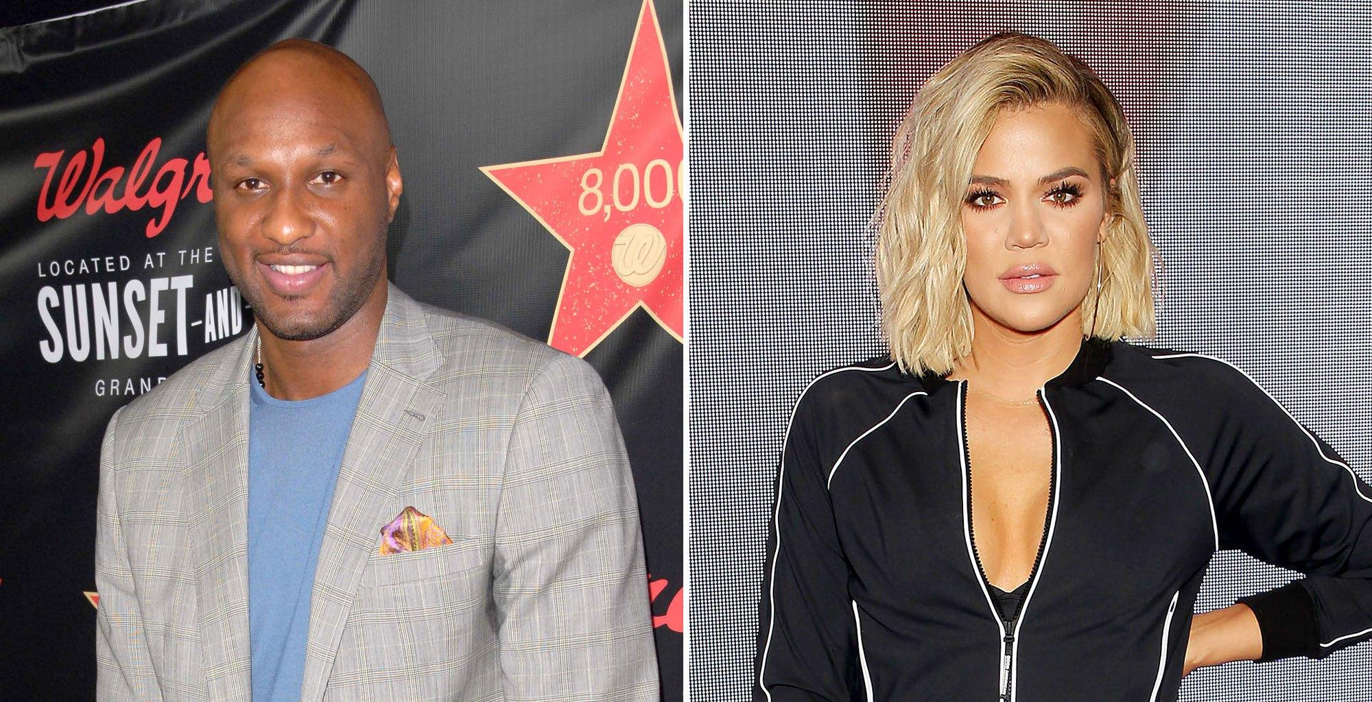 Lamar Odom Gets Sentimental While Watching Old Episodes of Khloe And Lamar