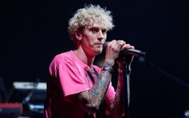 Machine Gun Kelly Visits His Drummer In The Hospital After He Was Attacked And Robbed