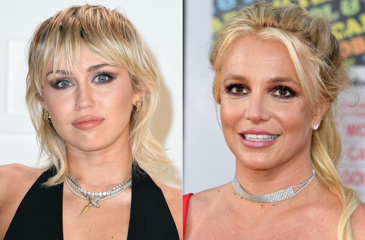 Miley Cyrus Reportedly 'Honored' That Britney Spears Shouted Her Out And Called Her An 'Inspiration!'