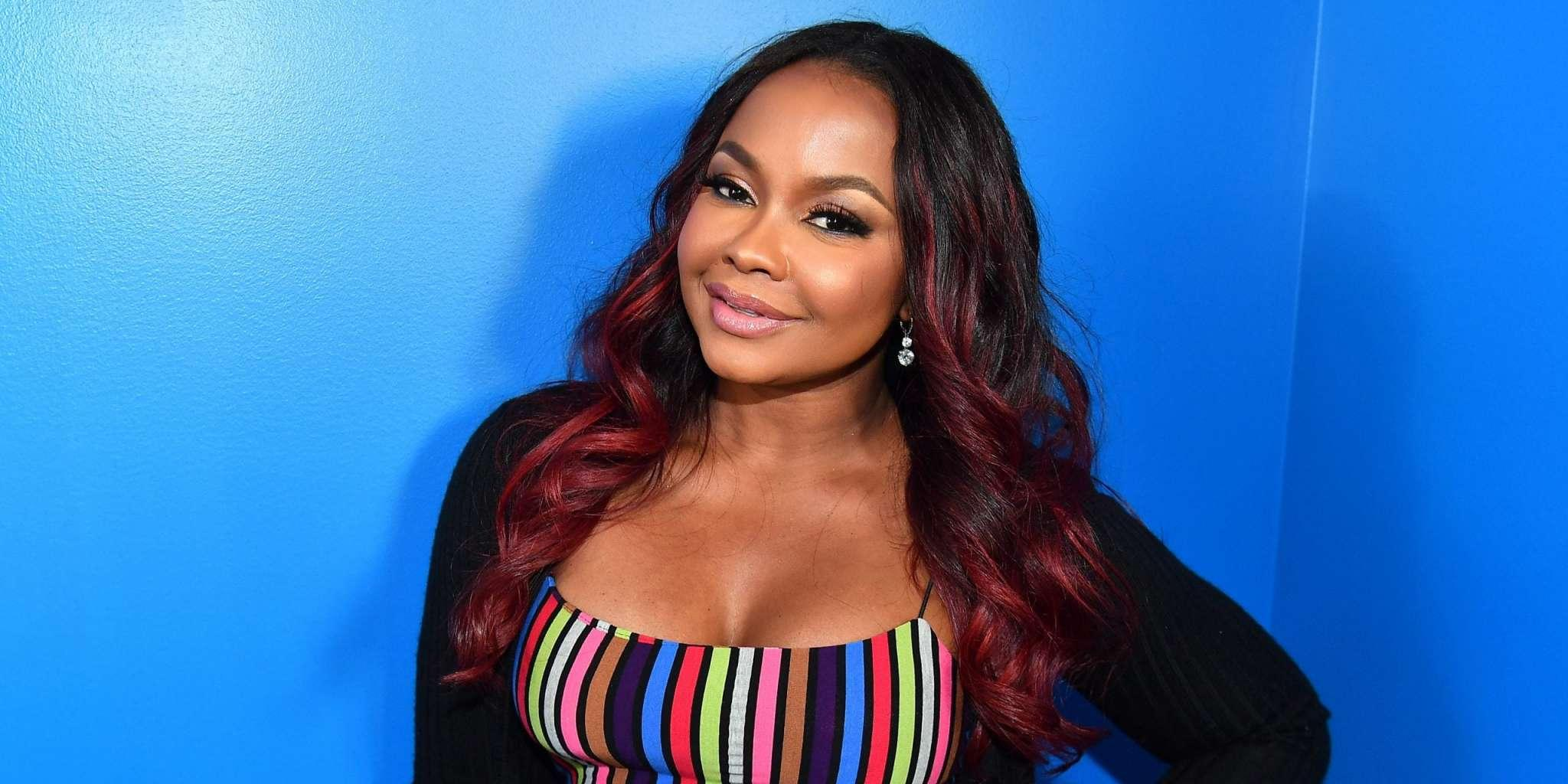Phaedra Parks Is A Modern Day Poison Ivy In This Dress - Check Out The Post That She Shared On Social Media