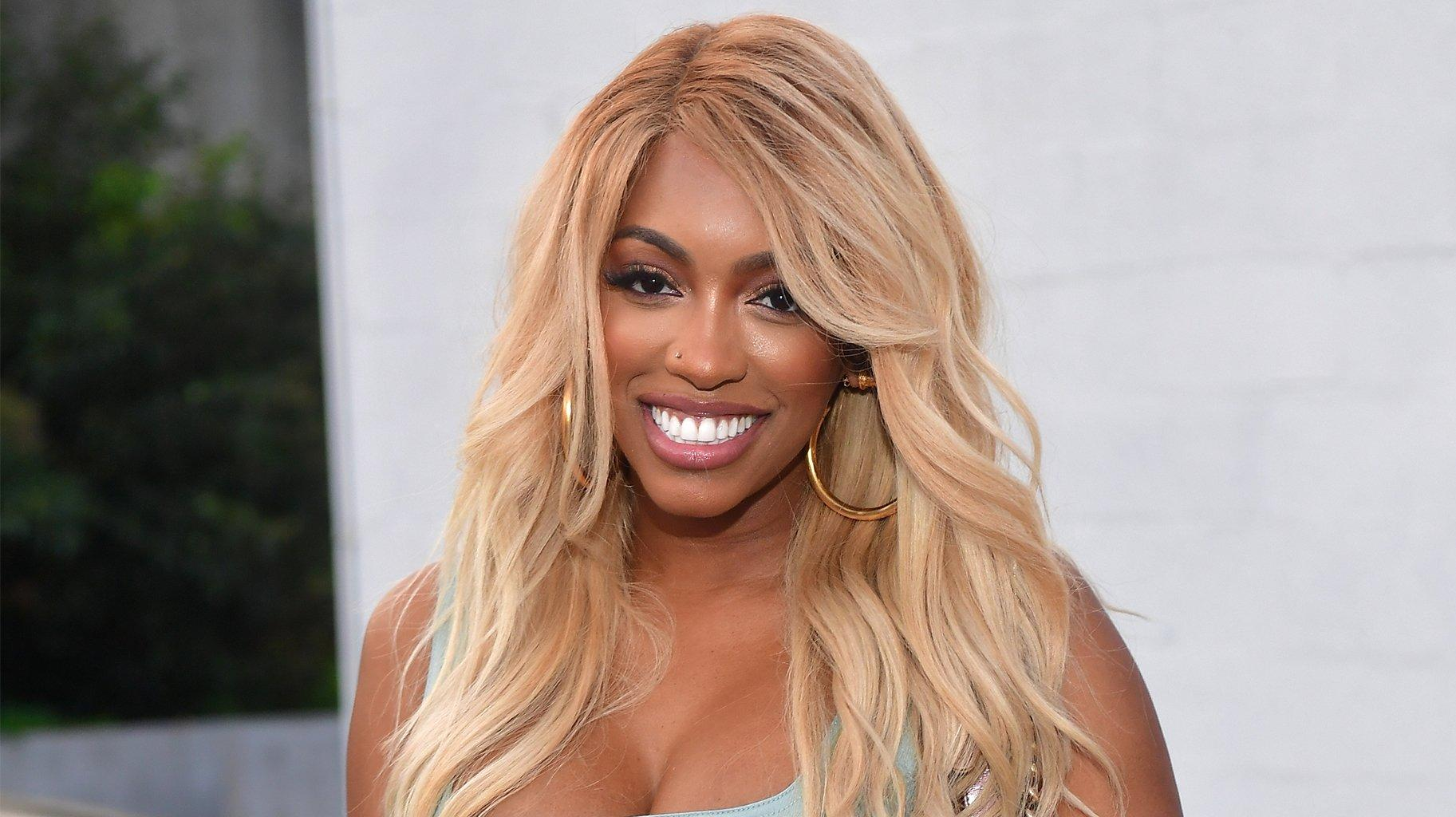 Porsha Williams Flaunts Her Jaw-Dropping Curves In This Amazing Red Dress - See Her Latest Pics That Have Fans Drooling