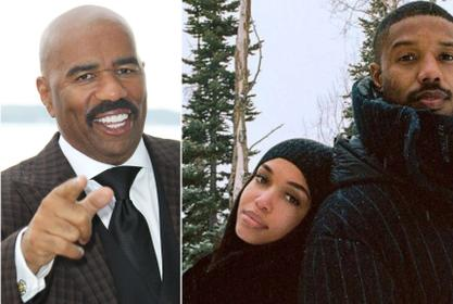 Steve Harvey - Here's Why 'It's No Surprise' He Likes His Daughter Lori Dating Michael B. Jordan!