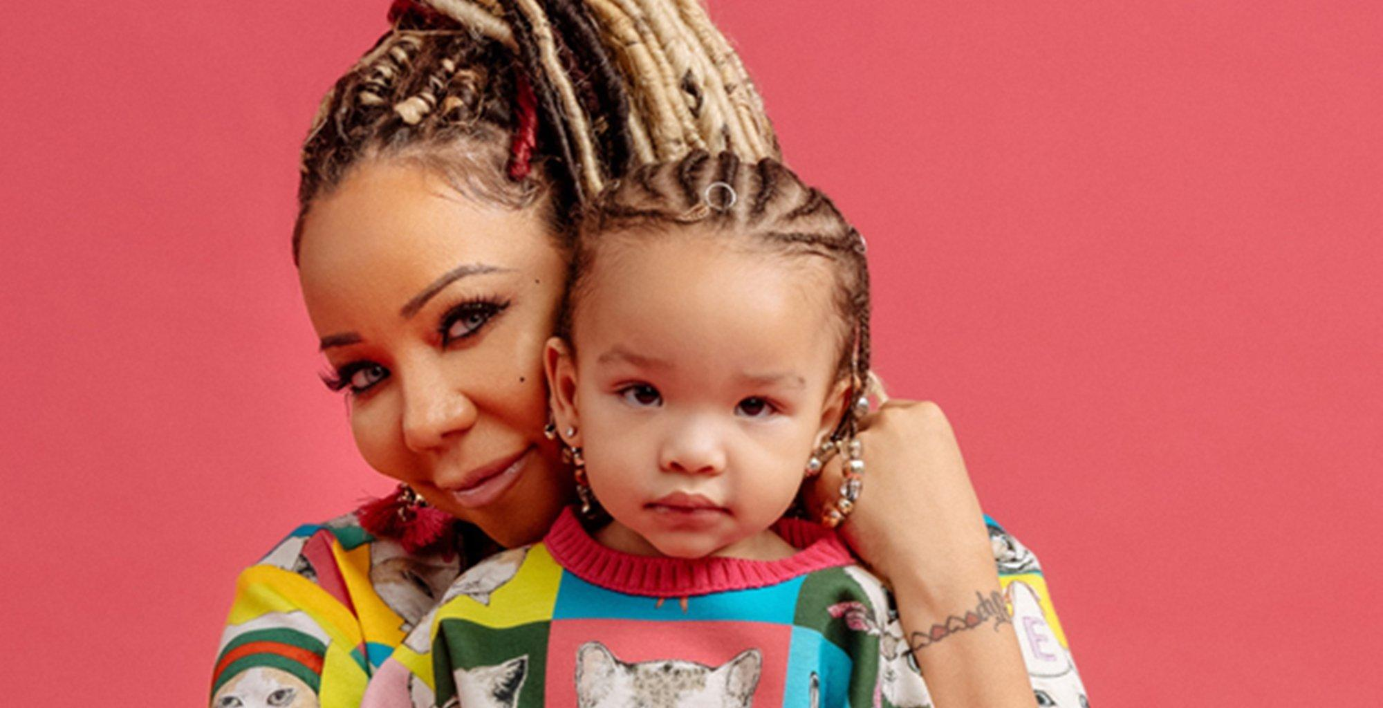 Tiny Harris Shows Off A Video Of Heiress Harris Who Loves Her Brother, King