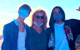 Britney Spears Insider Says The 'Highlight Of Her Week' Is Spending Quality Time With Her Teen Boys - Details!