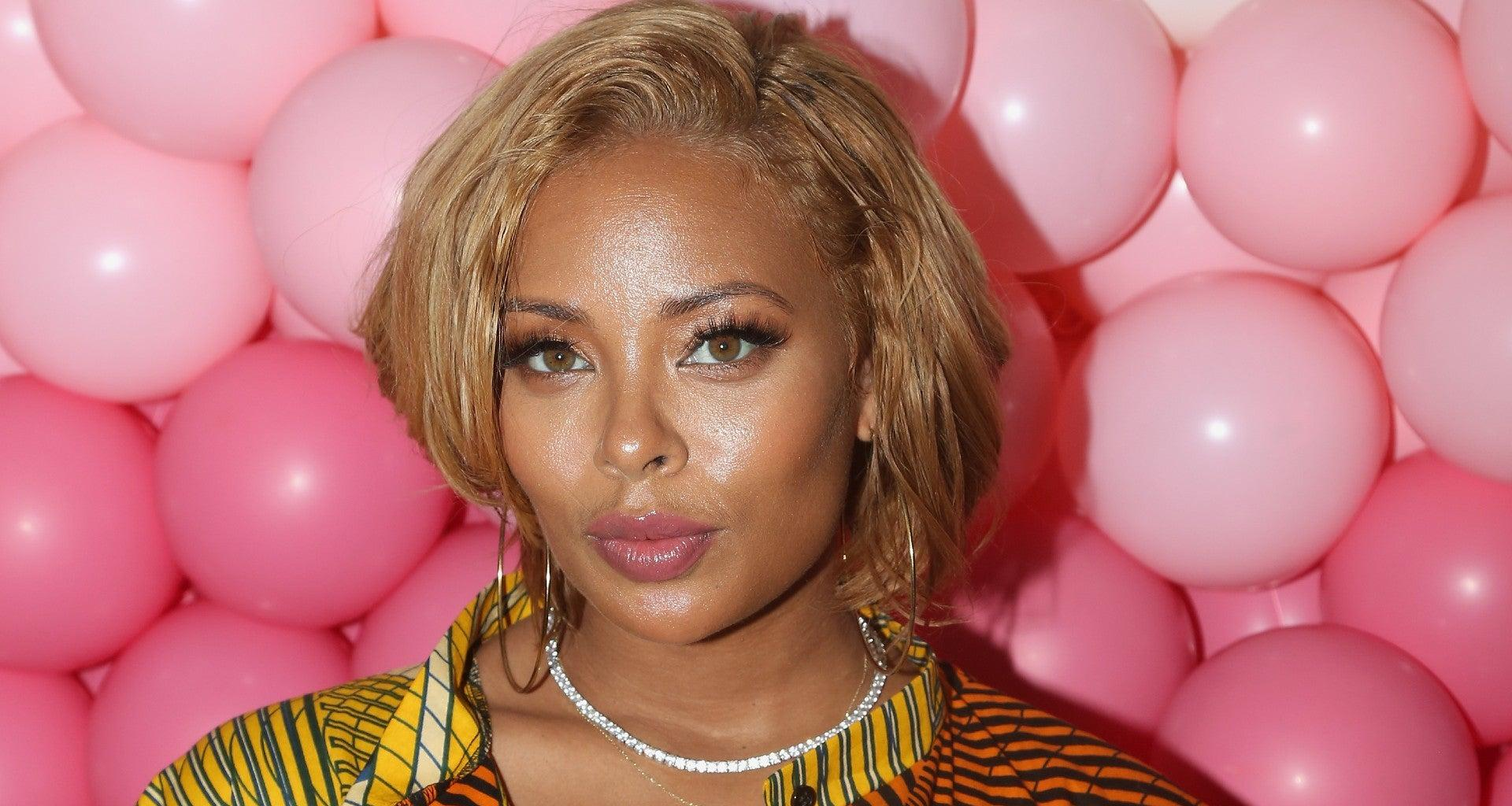 Eva Marcille Looks Amazing In This Fresh Orange Outfit - Check Out The Video Here