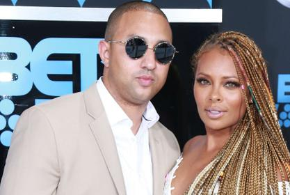 Eva Marcille Gushes Over Mike Sterling - Check Out The Message She Re-Posted