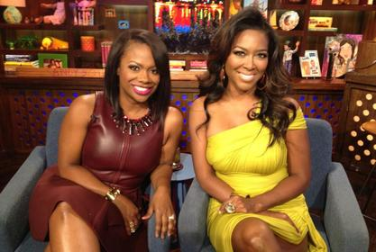 Kenya Moore Praises Kandi Burruss - Check Out Her Message