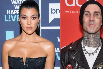 Travis Barker Tattoos Kourtney Kardashian's Name On His Chest And Fans Are Freaking Out