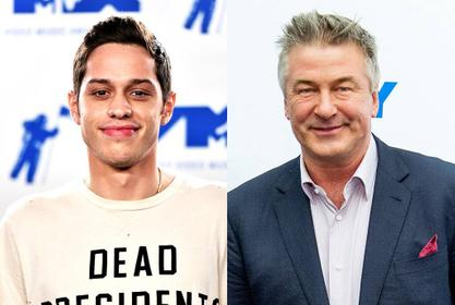 Pete Davidson Says He Helped Alec Baldwin Drop 100 Pounds By Lying About His Own Fitness Routine!