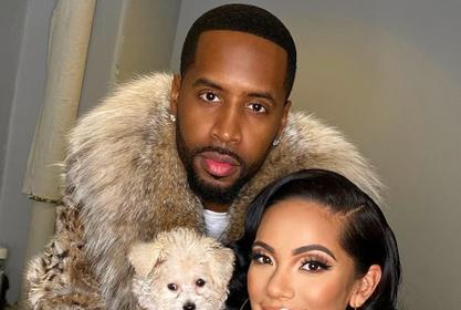 Safaree's Latest Photo With Safire Majesty Has People Surprised By How Fast She Is Growing Up