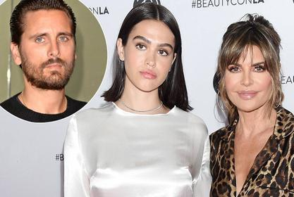 Lisa Rinna Breaks Her Silence On Daughter Amelia Hamlin Dating Scott Disick!
