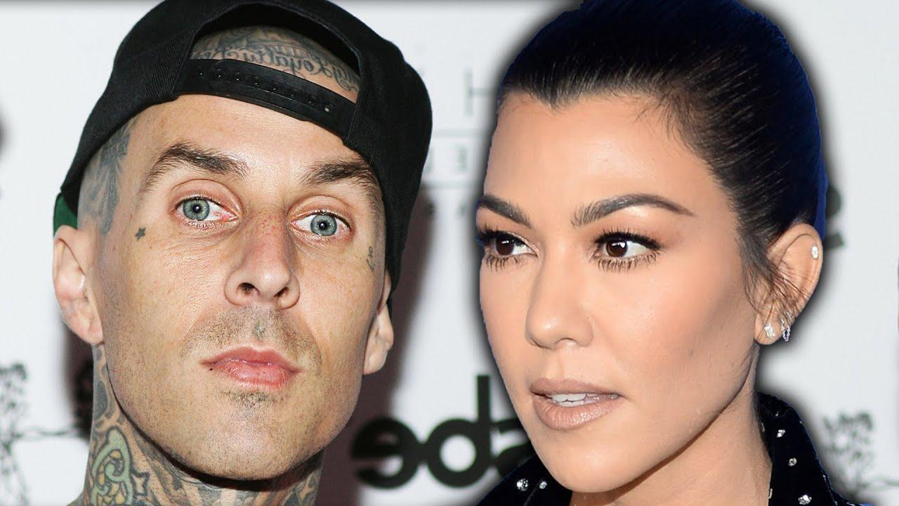 Kourtney Kardashian And Travis Barker Celebrate Easter Like A Family
