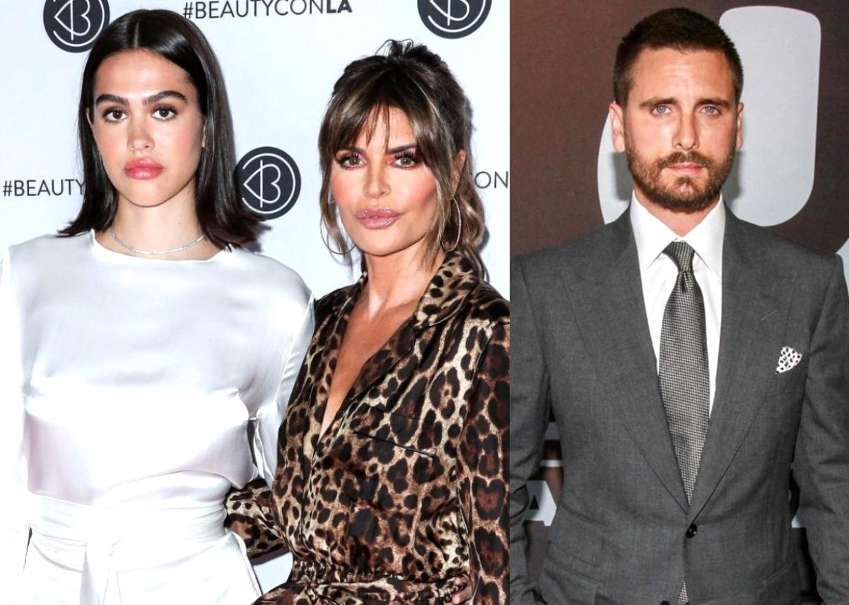 Lisa Rinna Breaks Her Silence On Her Teen Daughter Dating Scott Disick - Here's How She Feels About It!