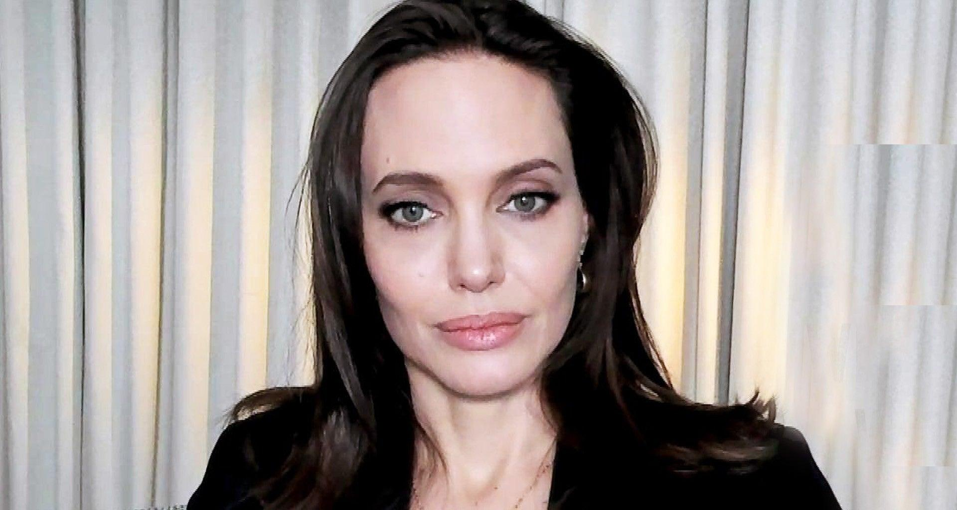 Angelina Jolie Says Her 6 Kids Always Make Her Cry On Mother's Day