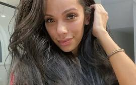 Erica Mena Looks Gorgeous While Flaunting Her Pregnant Belly