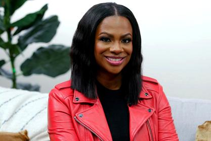 Kandi Burruss Flaunts Her Beach Body During Her Vacay - Blaze Is Something Else In The Photo