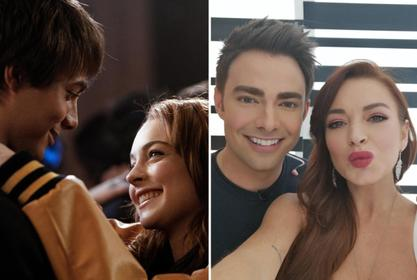 Jonathan Bennett Sweetly Congratulates Lindsay Lohan For Getting Movie Deal With Netflix!