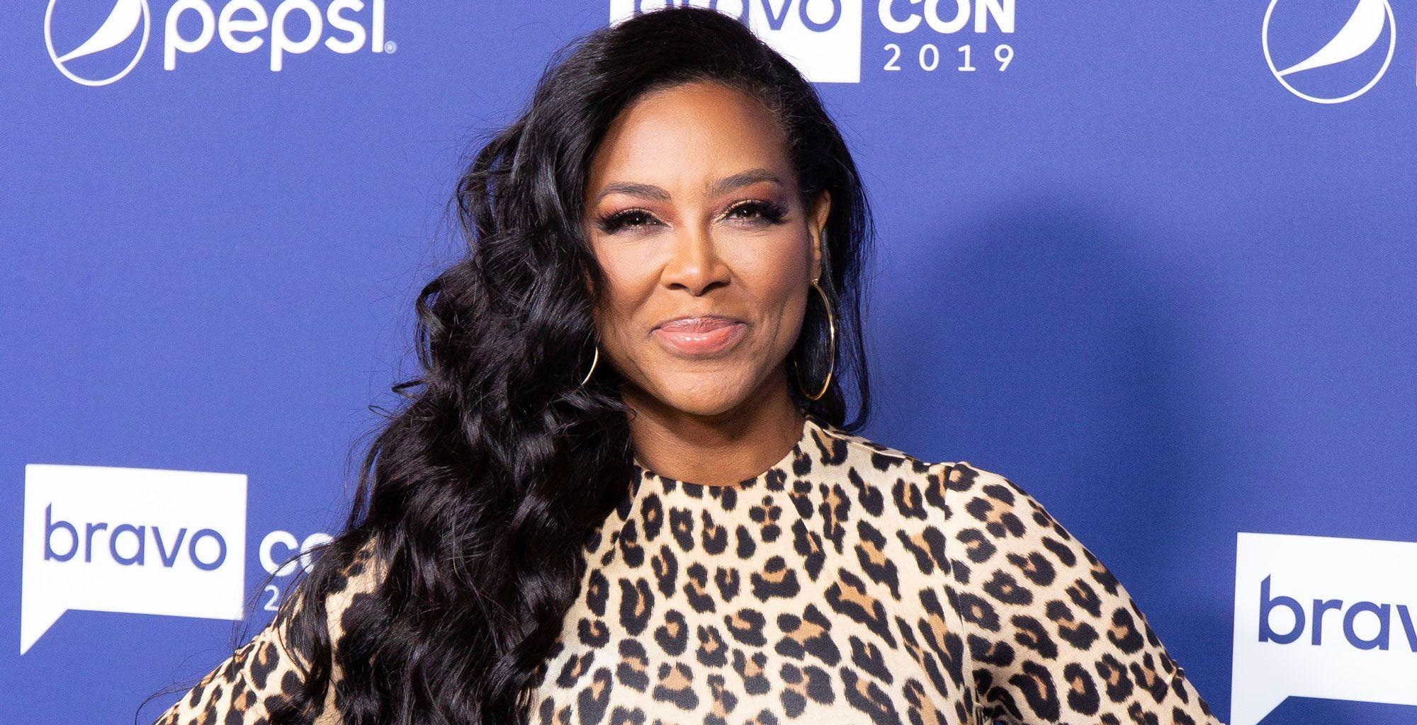Kenya Moore Shares A Gorgeous Image: 'Sunny With A Little Shady'