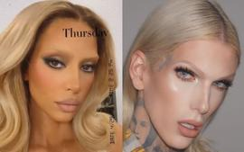 Kim Kardashian Compared To Jeffree Star After Failed Bleached Blonde Eyebrows