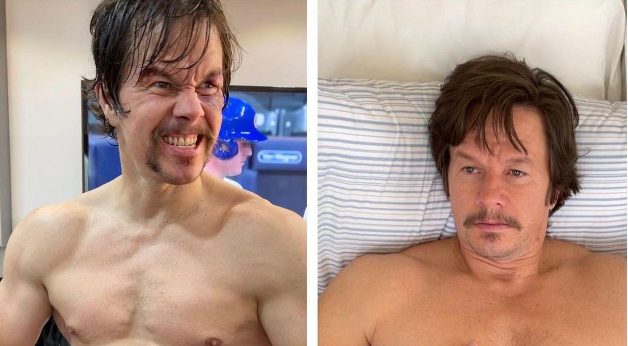 Mark Wahlberg Gaining 40 Pounds For Movie Role And Fans Love His Dad Bod!