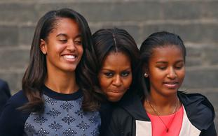 Michelle Obama Says She's Worried About Her Daughters' Safety From 'Assumptions' By Police