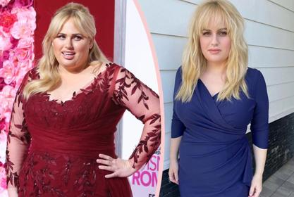 Rebel Wilson Shows Off Amazing 60 Pound Weight Loss In Black Swimsuit While At The Beach!