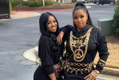 Toya Johnson Is Twinning With Her Daughter, Reginae Carter In This Workout Video