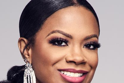 Kandi Burruss Shares A Photo With Blaze Tucker And Fans Are In Love With Her