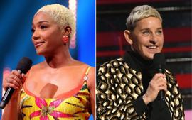 Tiffany Haddish Addresses The Rumors That She's The First Pick To Replace Ellen DeGeneres!